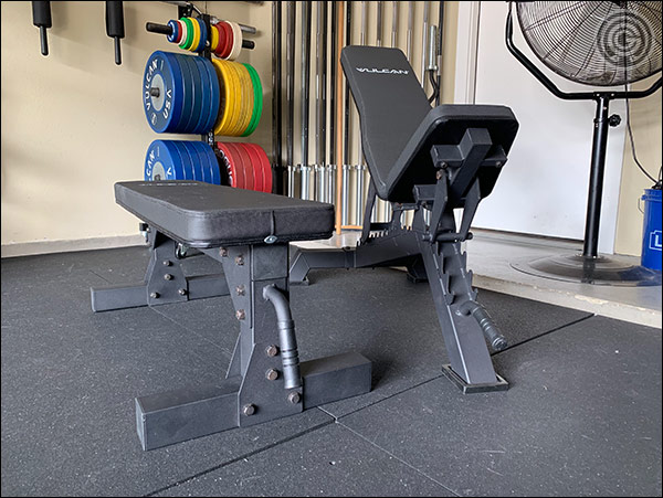 The Vulcan Prime Adjustable Bench and the Vulcan Prime Flat Bench