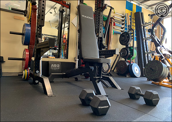 Vulcan prime adjustable incline bench review