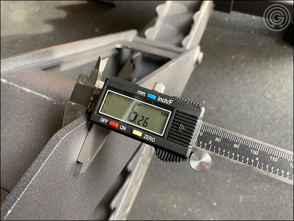 Vulcan Prime Adjustable Bench - heavy-duty, 3-gauge steel used for adjustment mechanism