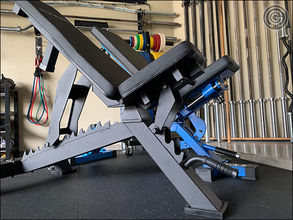 Vulcan Prime Adjustable Bench versus the Rep Fitness AB-5000