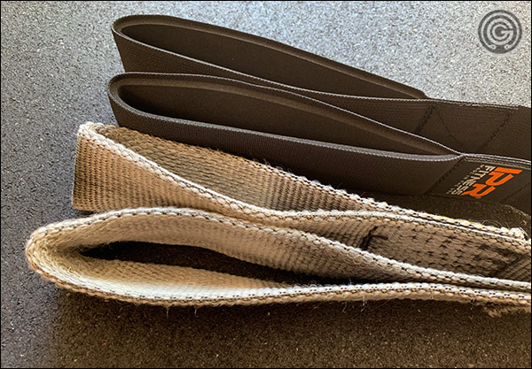 Another obvious difference between the IPR and Spud straps is the thickness and strength of the nylon