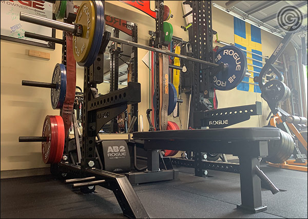 Testing the Rep Fitness FB-4000 Bench