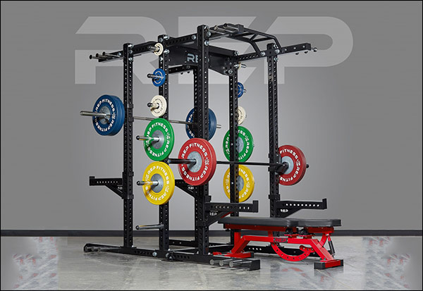 Rep Fitness HR-5000 with optional 5100 double-sided add-on