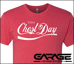 Shop the Garage Gyms Store for garage gyms apparel, stickers, banners and more