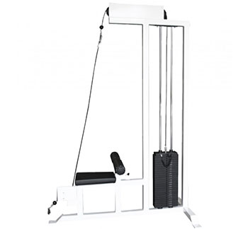 Elite FTS Selectorized Lat Pulldown Machine w/ Low Row
