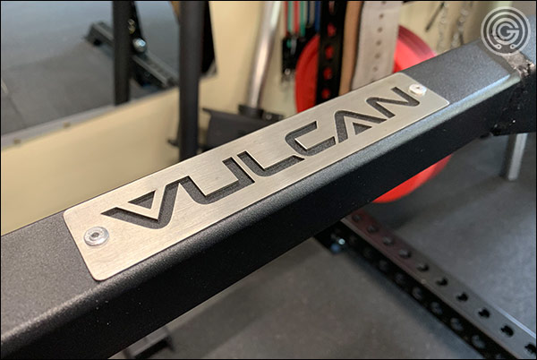 Vulcan Prime Hex Trap Bar - Stainless Steel Nameplates