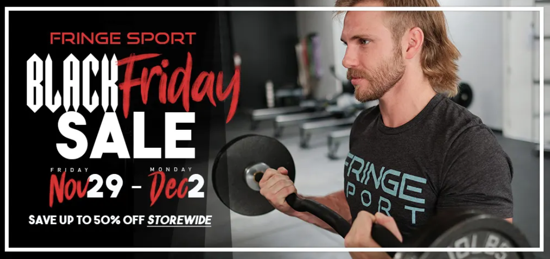 Fringe Sport Black Friday Sales