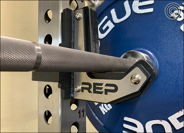 Flat, Sandwich-Style J-cups for the Rep Fitness PR-5000 V2 Power Rack