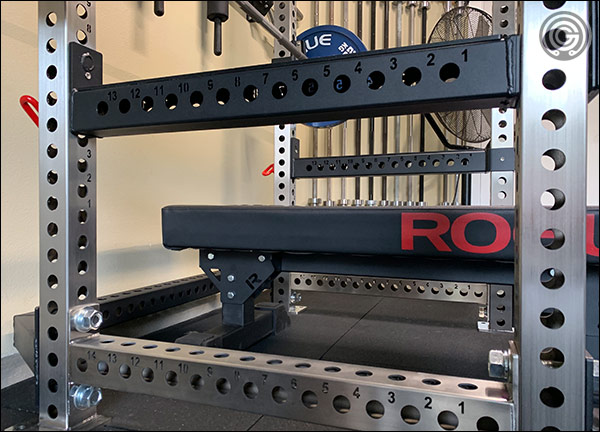 Flip-Down Safeties for the PR-5000 V2 Power Rack