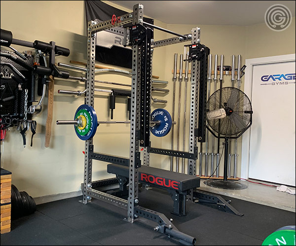 The Stainless Steel PR-5000 V2 Power Rack