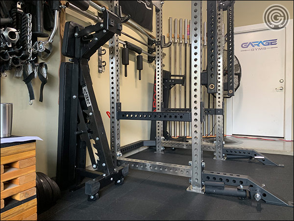 Storing the AB-5200 and another flat bench takes up very little floor space. Get two benches if you can!
