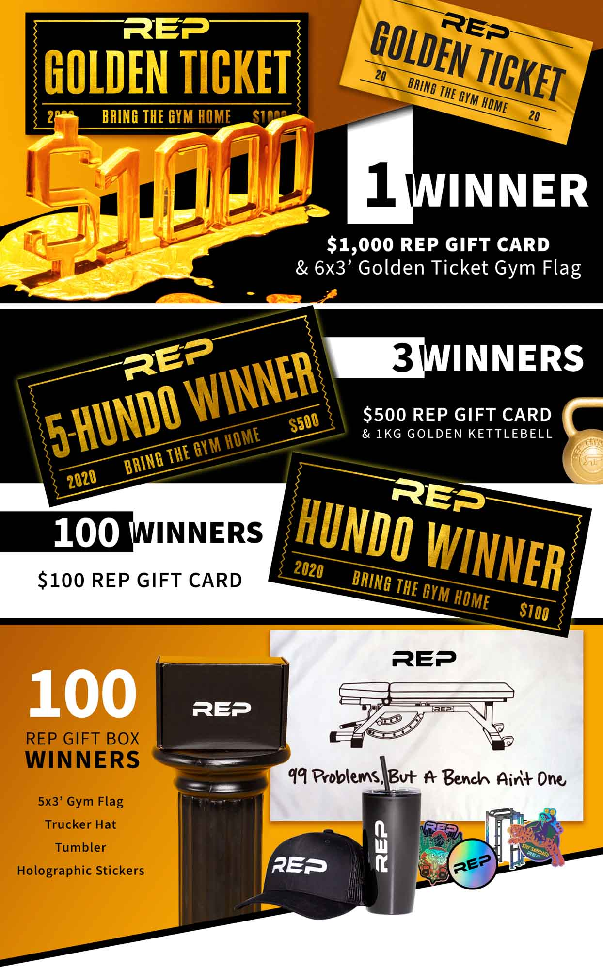 REP Fitness Black Friday Event