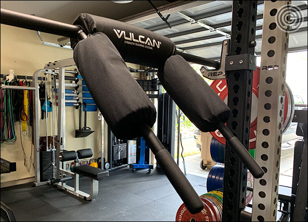 Vulcan 1-Basic Safety Squat Bar Review - Handles