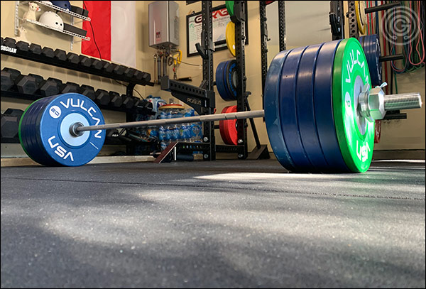 The Hybrid Bar is just as suitable for heavy deadlifts as it is for high-rep clean and jerks.