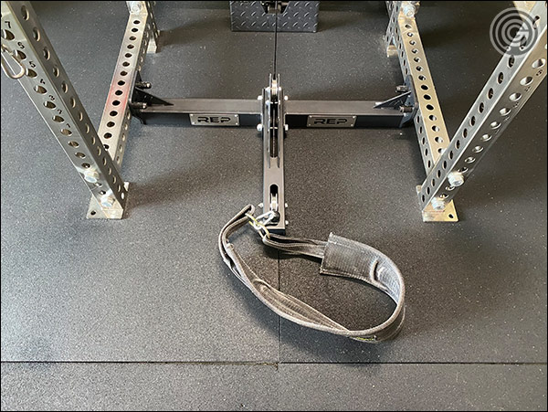Rep Fitness Belt Squat Attachment - Set up and Ready to Roll