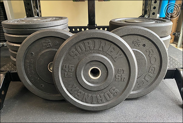 USA-Made Crumb Rubber Bumper Plates Review