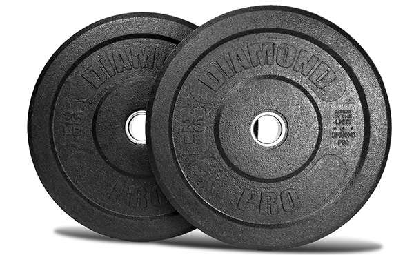 Diamond Pro USA-Made Crumb Rubber Bumper Plates