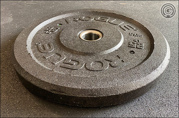 Rogue's MIL Spec Crumb Rubber Bumper Plates - Made in USA