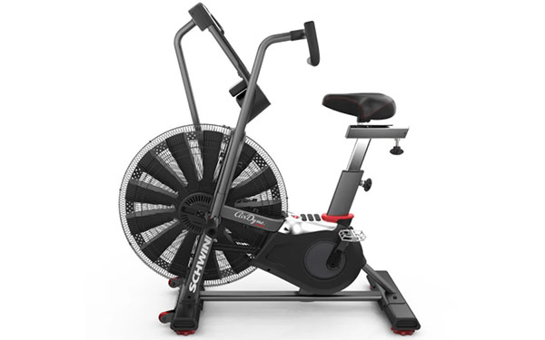 the Schwinn Airdyne Pro with progressive resistance performance fan